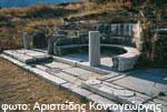 Ο αρχαιολογικός χώρος των Κιονίων στην Τήνο